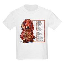Long-haired Dachshund T-Shirt