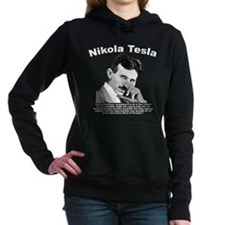 Tesla: Peace Women's Hooded Sweatshirt