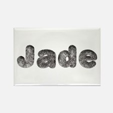 Jade Wolf Rectangle Magnet