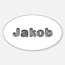 Jakob Wolf Oval Decal