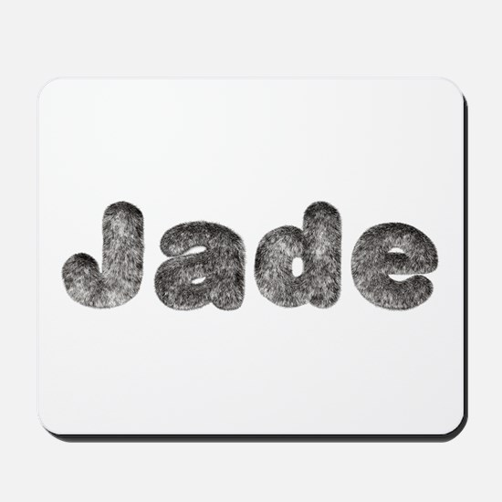 Jade Wolf Mousepad