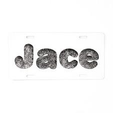 Jace Wolf Aluminum License Plate