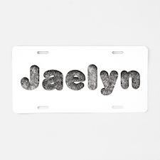 Jaelyn Wolf Aluminum License Plate