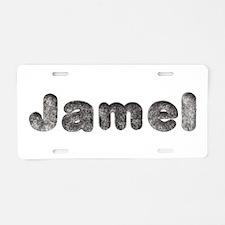 Jamel Wolf Aluminum License Plate