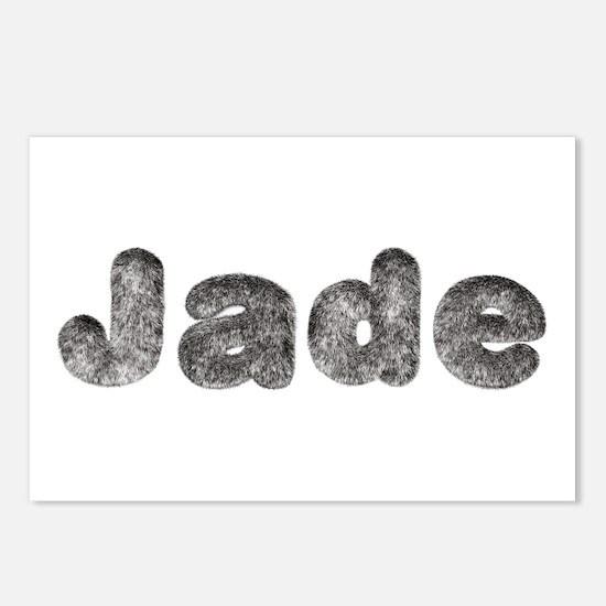Jade Wolf Postcards 8 Pack
