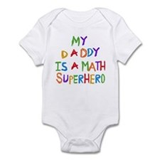 Daddy is a Math Superhero Onesie