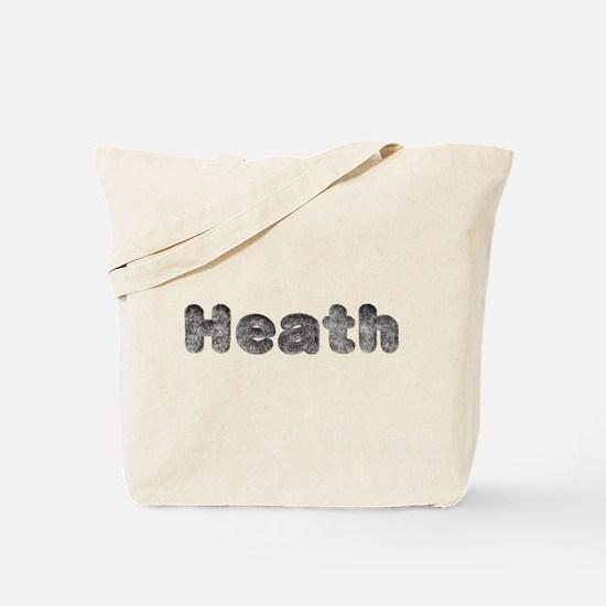 Heath Wolf Tote Bag