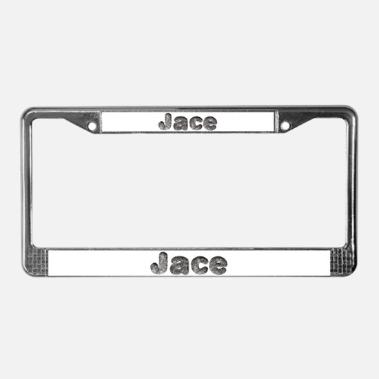 Jace Wolf License Plate Frame