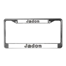 Jadon Wolf License Plate Frame