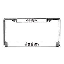 Jadyn Wolf License Plate Frame