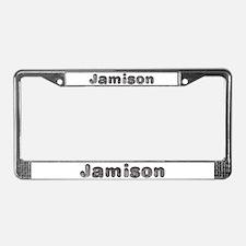 Jamison Wolf License Plate Frame