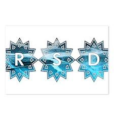 RSD Awareness Starburst I Postcards (Package of 8)