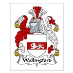 Wallingford Family Crest Small Poster