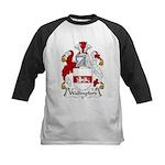 Wallingford Family Crest Kids Baseball Jersey