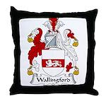 Wallingford Family Crest Throw Pillow