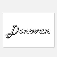 Donovan surname classic d Postcards (Package of 8)