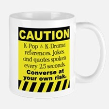 Caution K spoken here Mugs