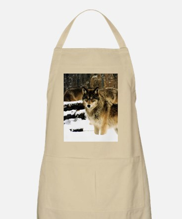 Wolves in The Snow Apron