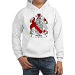 Walles Family Crest Hooded Sweatshirt