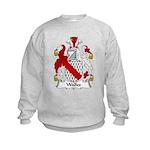 Walles Family Crest Kids Sweatshirt
