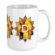 RSD Awareness Flaming Starburst Shield Mugs