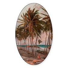 Beach in Fortaleza Decal