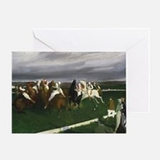 Polo at Lakewood - George Bellows Greeting Card