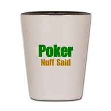 Cute World series poker Shot Glass