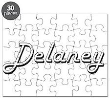 Delaney surname classic design Puzzle