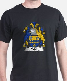 Wall Family Crest T-Shirt