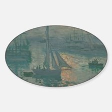 Sunrise (Marine) - Claude Monet Decal