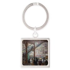 Elevated Columbus Avenue - Gifford Square Keychain