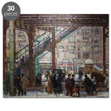 Elevated Columbus Avenue - Gifford Beal Puzzle