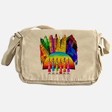 African American Women Messenger Bag
