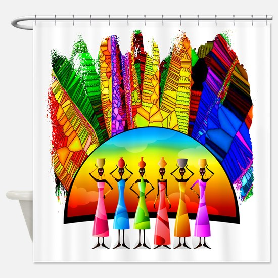 African American Shower Curtains