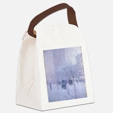 Late Afternoon New York Winter -  Canvas Lunch Bag