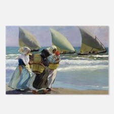 The Three Sails - Joaquin Postcards (Package of 8)
