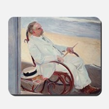 Antonio García at the Beach - Joaquín So Mousepad
