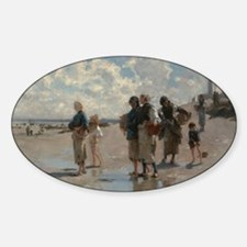 Fishing for Oysters at Cancale - Jo Decal