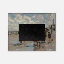 Fishing for Oysters at Cancale - Joh Picture Frame
