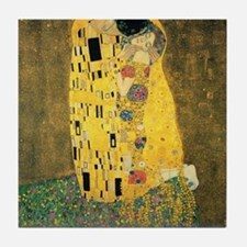 The Kiss - Gustav Klimt Tile Coaster
