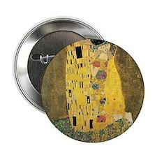 "The Kiss - Gustav Klimt 2.25"" Button"