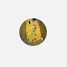 The Kiss - Gustav Klimt Mini Button