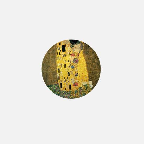 The Kiss - Gustav Klimt Mini Button