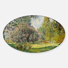 The Parc Monceau - Claude Monet Decal