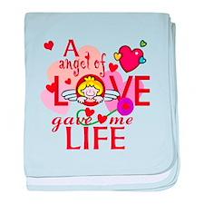 Angel Of Love baby blanket