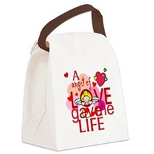Angel Of Love Canvas Lunch Bag