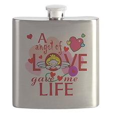 Angel Of Love Flask
