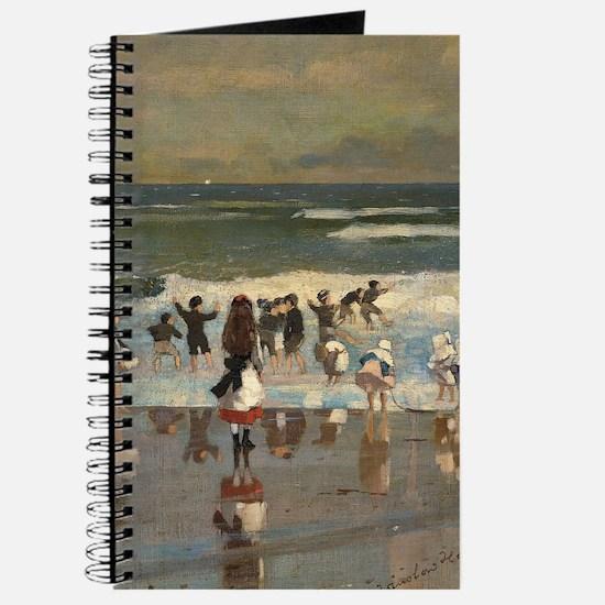Beach Scene - Winslow Homer Journal