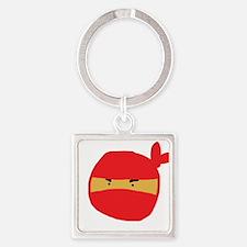 Red Ninja Sketch Keychains